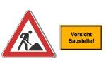 Baustellenkennzeichnung