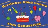 Geburtstagsfahnen