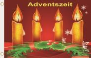 Fahne Adventszeit 90 x 150 cm