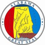 Aufkleber Alabama Siegel Seal