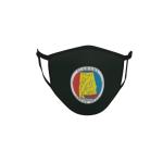 Gesichtsmaske Behelfsmaske Mundschutz schwarz Alabama Siegel Seal