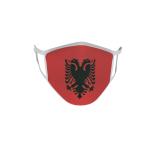 Gesichtsmaske Behelfsmaske Mundschutz Albanien