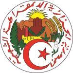 Aufkleber Algerien Wappen