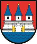 Aufkleber Hamburg Altona Wappen