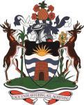 Aufkleber Antigua Wappen