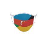 Gesichtsmaske Behelfsmaske Mundschutz Aserbaidschan-Deutschland