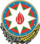 Aufkleber Aserbaidschan Wappen
