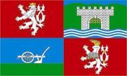 Flagge Aussig Region ( Tschechien )