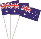 Papierfahnen Australien