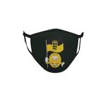 Gesichtsmaske Behelfsmaske Mundschutz schwarz Baden - Württemberg Smily