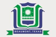 Flagge Beaumont City Texas