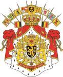 Aufkleber Belgien Wappen