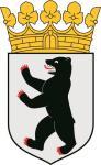 Aufkleber Berlin Wappen