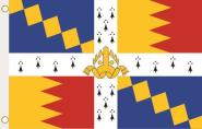 Fahne Birmingham City 90 x 150 cm