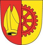 Aufkleber Bisingen Wappen