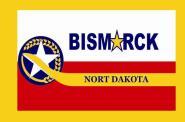 Flagge Bismarck City