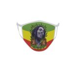 Gesichtsmaske Behelfsmaske Mundschutz Bob Marley Reggae