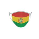 Gesichtsmaske Behelfsmaske Mundschutz Bolivien
