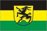 Flagge Boxberg ( Baden )