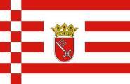 Miniflag Bremen 10 x 15 cm