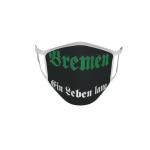 Gesichtsmaske Behelfsmaske Mundschutz Bremen ein Leben lang L