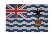 Glasreinigungstuch Britisch Territorium im Indischen Ozean