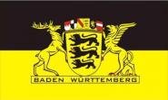 Aufkleber Baden - Württemberg mit großem Landessiegel