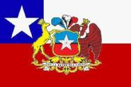 Flagge Chile President
