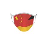 Gesichtsmaske Behelfsmaske Mundschutz China-Deutschland