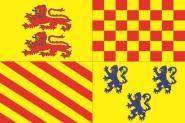 Flagge Correze Department
