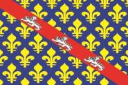 Flagge Creuse Department