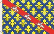Fahne Creuse Department 90 x 150 cm