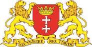 Aufkleber Danzig großes Wappen