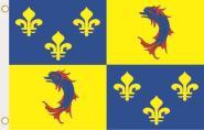 Fahne Dauphine Provinz 90 x 150 cm