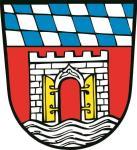 Aufkleber Deggendorf Wappen