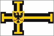 Flagge Deutscher Orden Hochmeister