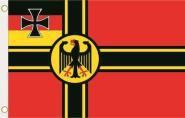 Fahne Deutscher Widerstand Kriegsflagge Bundesadler 90 x 150 cm