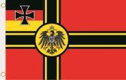 Fahne Deutscher Widerstand Kriegsflagge  Kaiser Adler 90 x 150 cm
