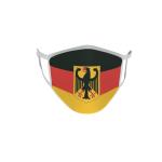 Gesichtsmaske Behelfsmaske Mundschutz Deutschland mit Adler L
