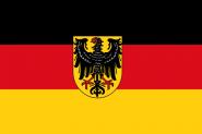 Flagge Dienstflagge zu Land Weimarer Republik