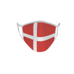 Gesichtsmaske Behelfsmaske Mundschutz Dänemark