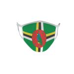 Gesichtsmaske Behelfsmaske Mundschutz Dominica