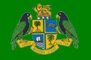 Flagge Dominica President