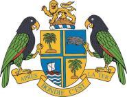 Aufkleber Dominica Wappen