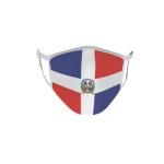 Gesichtsmaske Behelfsmaske Mundschutz Dominikanische Republik