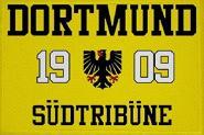 Aufnäher Dortmund 1909 Südtribüne Patch 9 x 6 cm