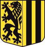 Aufkleber Dresden Wappen
