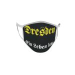 Gesichtsmaske Behelfsmaske Mundschutz Dresden Ein Leben lang