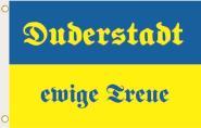 Fahne Duderstadt ewige Treue 90 x 150 cm