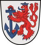Aufkleber Düsseldorf Wappen 9 x 10 cm